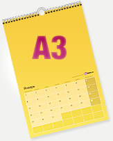 Календарь перекидной A3