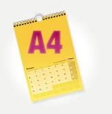 Календарь перекидной A4