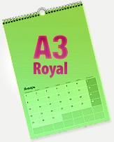 Календарь перекидной А3 ROYAL