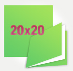 Instagram 20х20 в мягкой обложке, от 10 разворотов